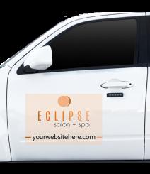 Vehicle Adhesive Sign