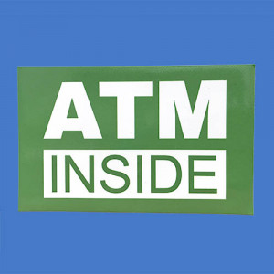 ATM Inside Stickers
