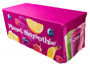 Planet Smoothie Fitted Table Covers