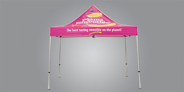 Planet Smoothie Tent