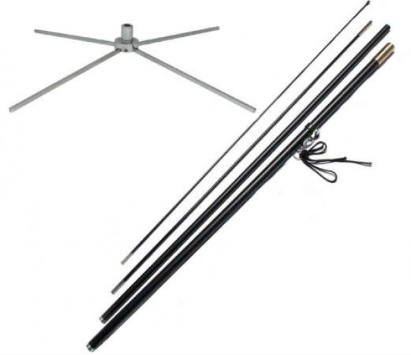 Flag Pole Set (includes X Base)