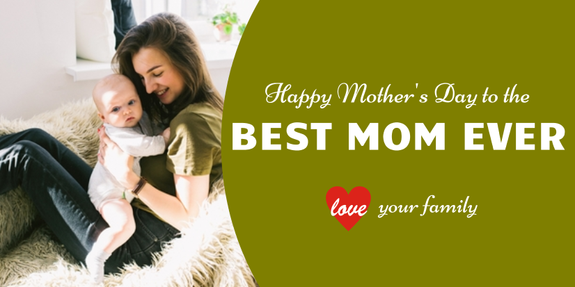 Mother's Day Best Mom (5ft)