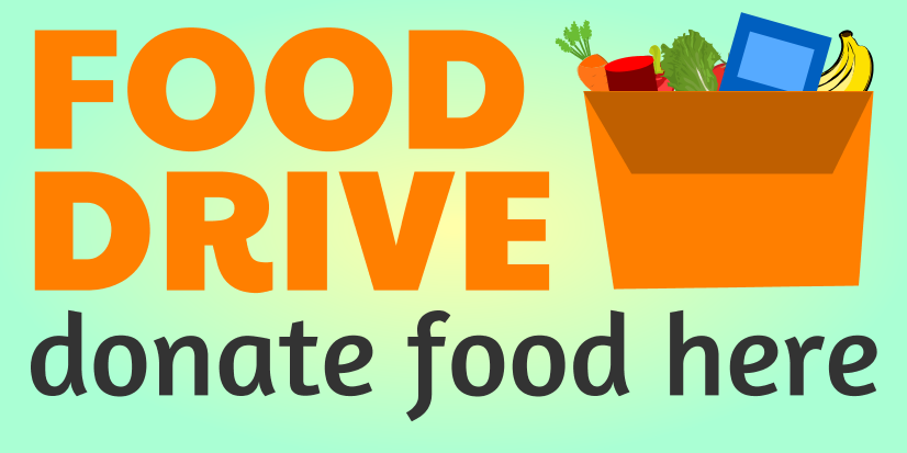 Food Drive (5ft Banner)