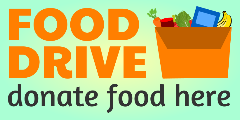 Food Drive (4ft Banner)