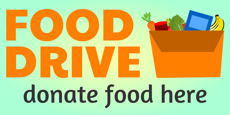Food Drive (2ft Banner)