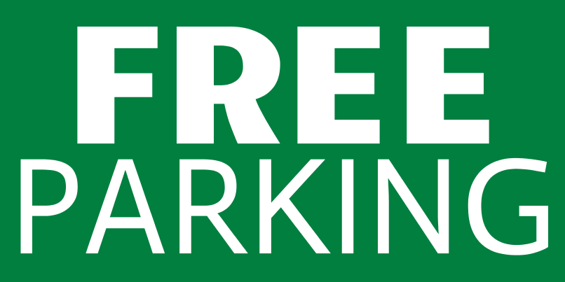 Free Parking (2ft Banner)