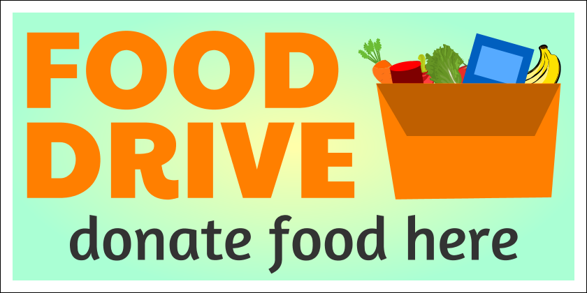 Food Drive (Yard Sign)