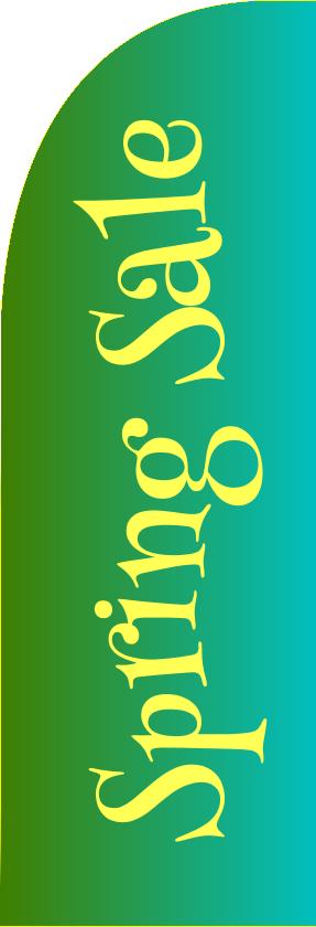 Spring Sale (Straight Flag)