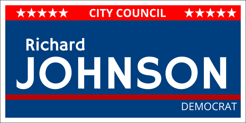 Political (Yard Sign)