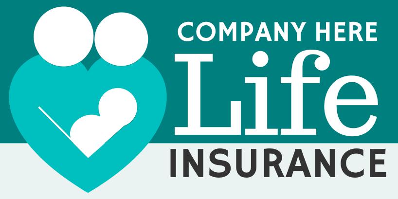 Life Insurance (3ft Banner)