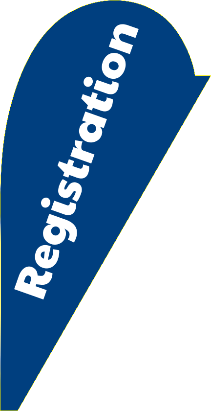 Registration (Teardrop Flag)