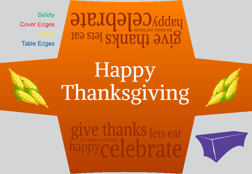 Thanksgiving (Stretch Table Cover)