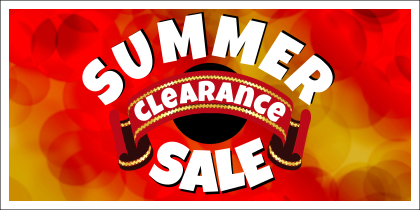 Summer Sale (Yard Sign)