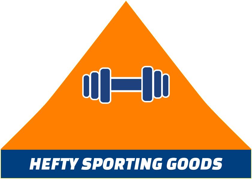 Hefty Sporting Goods Tent