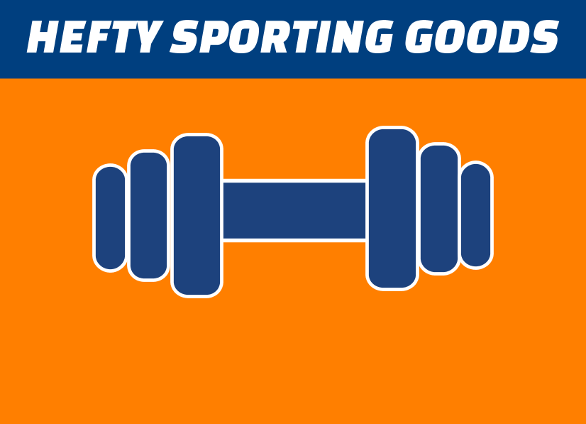 Hefty Sporting Goods Tent Wall