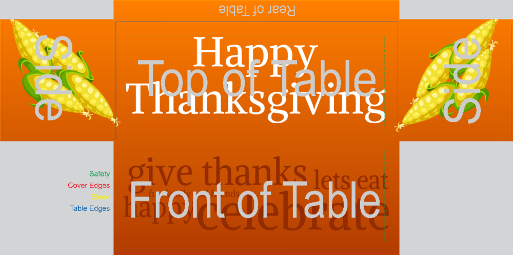 Thanksgiving (Fitted Table Cover)