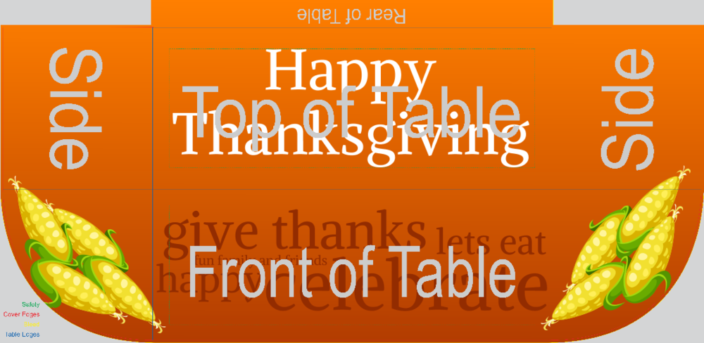 Thanksgiving (Table Throw)