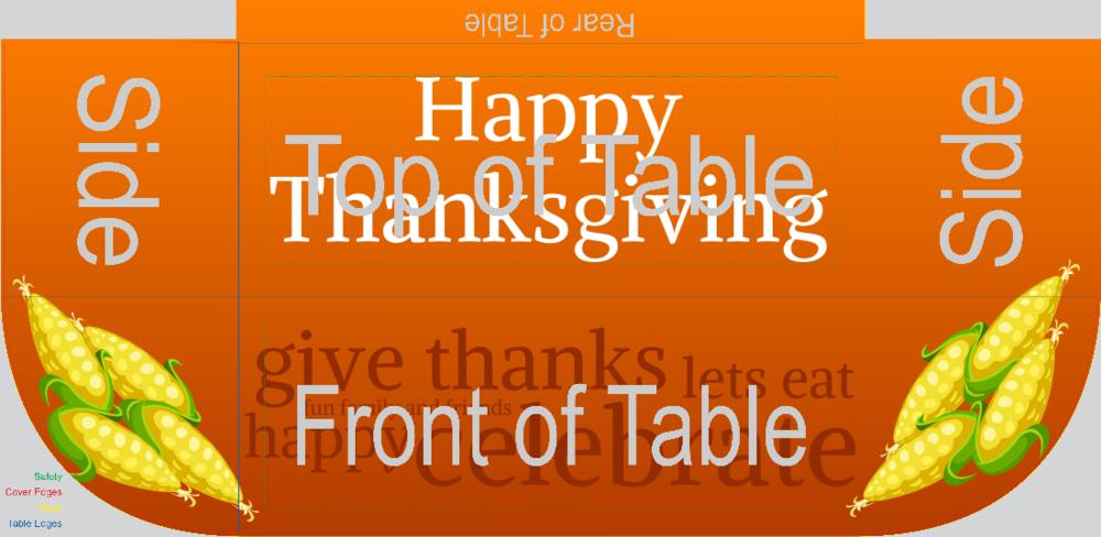 Thanksgiving (Table Throw)
