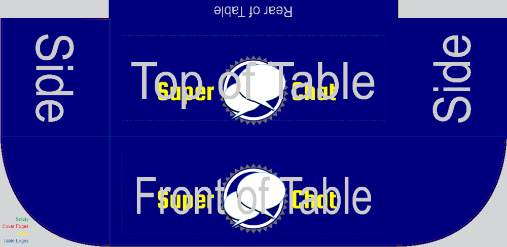 Super Chat (Table Drape)