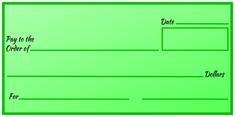 Over-Sized Check (Green Gradient)
