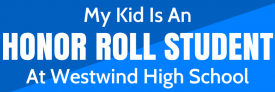 My Kid Is A Honor Roll (Blue)