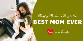 Mother's Day Best Mom (4ft)