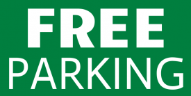 Free Parking (5ft Banner)
