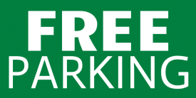 Free Parking (4ft Banner)