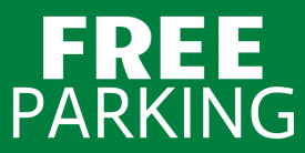 Free Parking (3ft Banner)