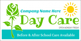 Day Care (Yard Sign)