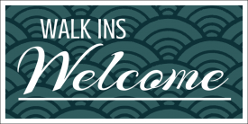 Walk Ins Welcome (Yard Sign)
