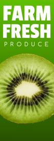 Farm Fresh (Single Sided Retractable)