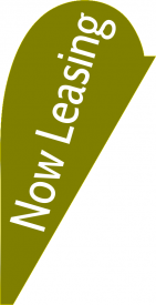 Now Leasing (Teardrop Flag)