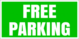 Free Parking (Yard Sign)
