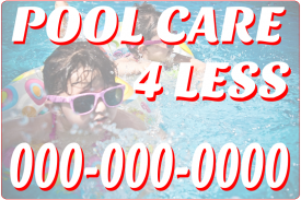 Family Pool Care (Magnetic Sign)