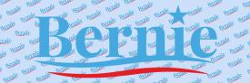 Bernie Sanders Blue (Bumper Sticker)