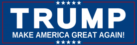 Donald Trump (Bumper Sticker)