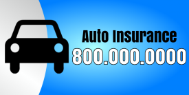 Auto Insurance (4ft Banner)