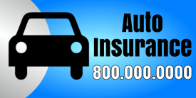 Auto Insurance (2ft Banner)