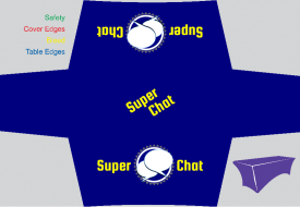 Super Chat (Stretch Table Cover)