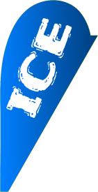 ICE (Teardrop Flag)