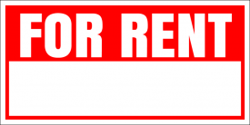 For Rent (Yard Sign)