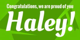 Grad Cap Congratulations! (5ft banner)