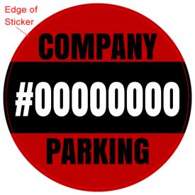 Parking Pass (Round)