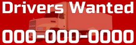 Truck Drivers Wanted (Bumper Sticker)