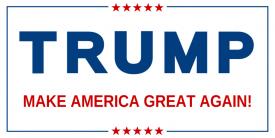 Donald Trump (2ft Banner)