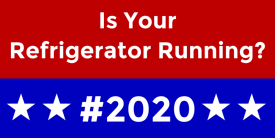 Is Your Refrigerator Running? (2ft Banner)