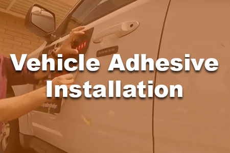 How to install Car and Truck self-adhesive Advertising Graphics.